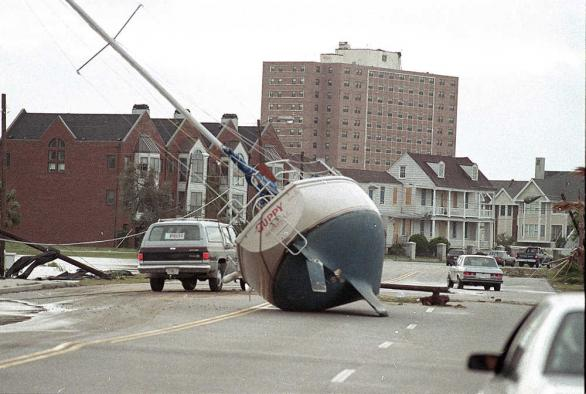 Hurricane hugo aftermath