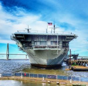 USS Yorktown Photo provided by Minta Pavliscsak