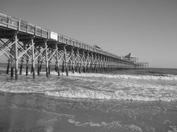 Edwin S  Taylor Folly Beach Fishing Pier – Ageless Symbol