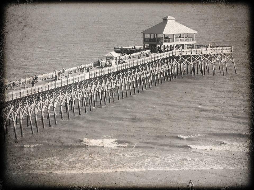Edwin S  Taylor Folly Beach Fishing Pier – Ageless Symbol