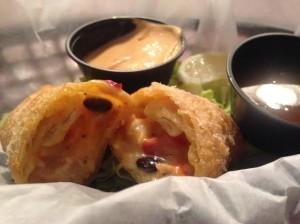 Southwestern egg roll