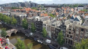 Amsterdam rooftops