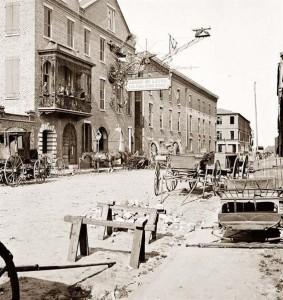 Cumberland Street - Circa 1865