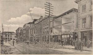 Post Earthquake - Broad Street 1886