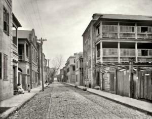Tradd Street - Circa 1910