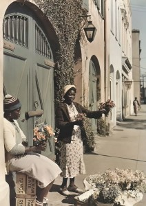 Flower Seller from 1939 - Photo by National Geographic