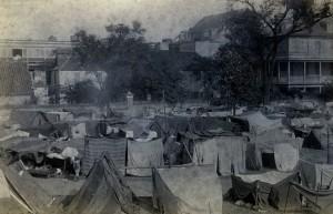 Tent City Charleston - 1886 - Post Earthquake