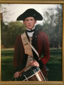 Early drumming in Colonial Williamsburg