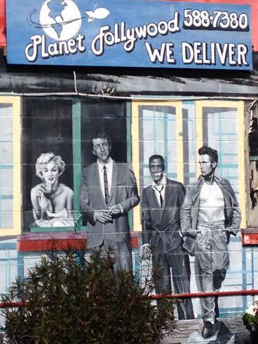 Marilyn, Dean, Sammy and James