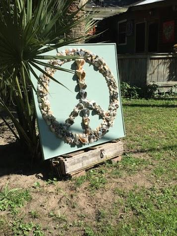 Peace to All - Beach Art