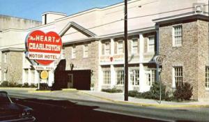 Heart of Charleston Hotel - Meeting Street - Circa 1980's