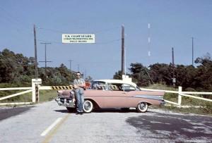 Loran Station - Folly Beach 1962