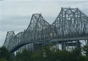 Old Cooper River Bridge - Circa 1980's