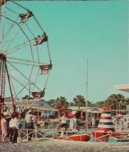Folly Beach Amusement Park - Circa 1960's