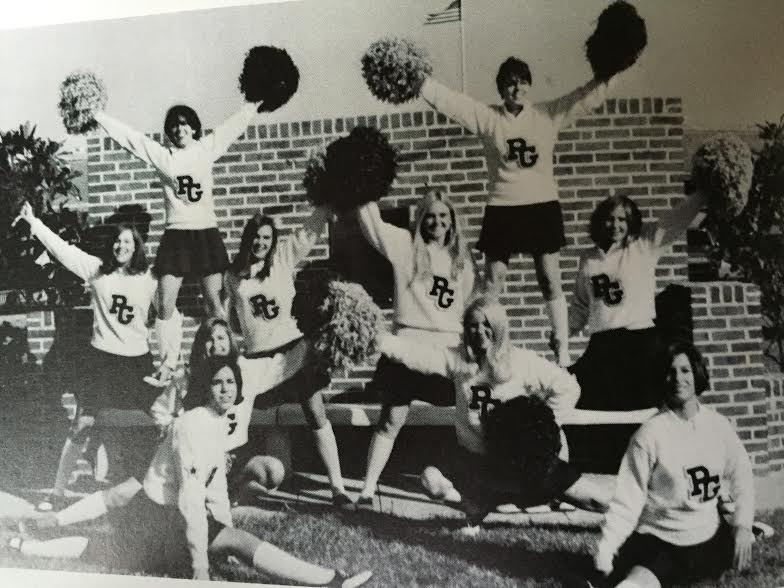 And the cheerleaders that loved them