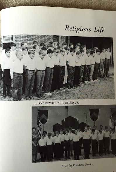 Religious Life was a part of the daily routine