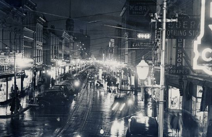 King Street Christmas Eve 1937