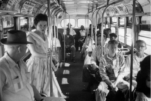Photo by Hank Walker 1956 Charleston Bus