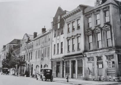 Rainbow Row 1920's