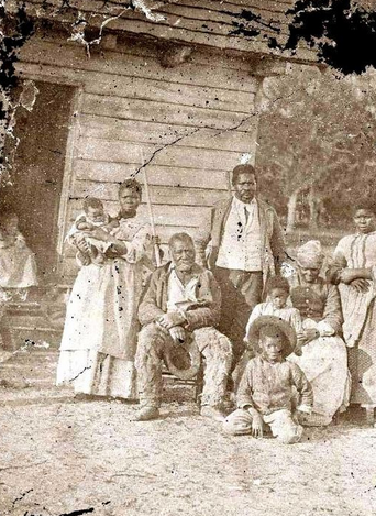 Slave Family on SC Plantation