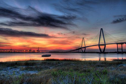 Sunset in Charleston, SC