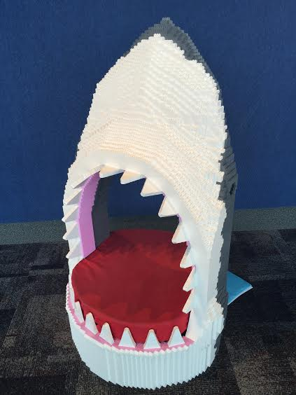 Lego shark - Great photo opportunity