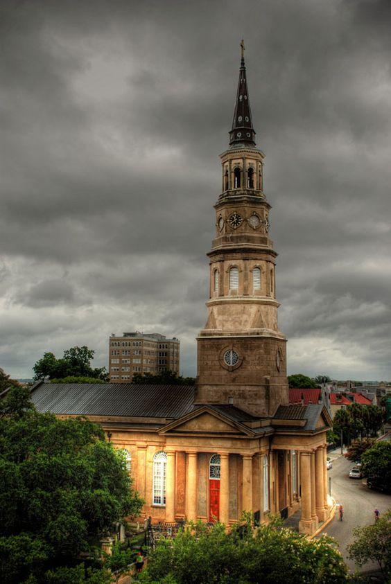 Overcast in Charleston, SC
