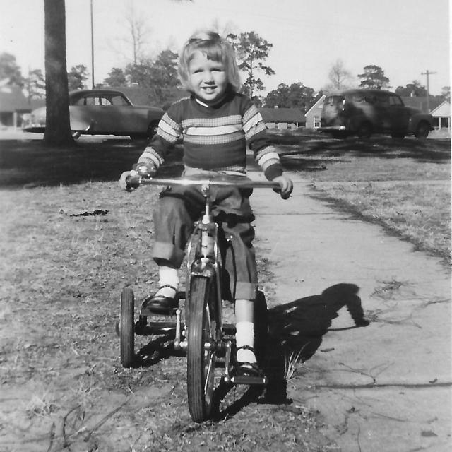 Charleston child 1950