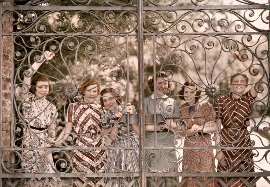 Ashley Hall students 1939