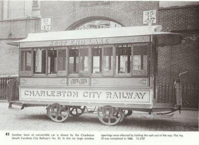Charleston City Railway Car