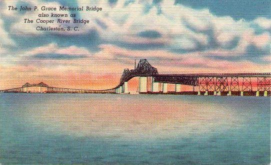 Cooper River Bridge Postcard