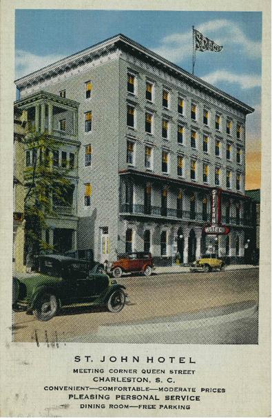 St. John Hotel - Meeting Street