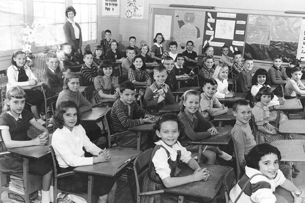 1961 at Albemarle Elementary School