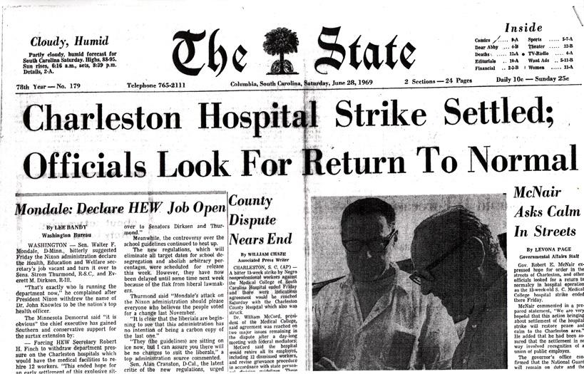Charleston Hospital Strike Article