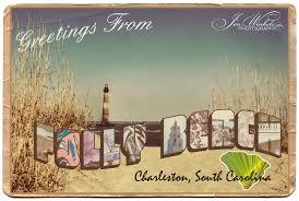 Folly Beach Postcard