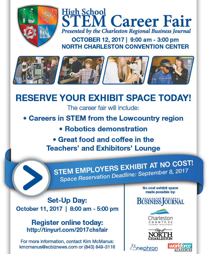 Charleston High School STEM Career Fair