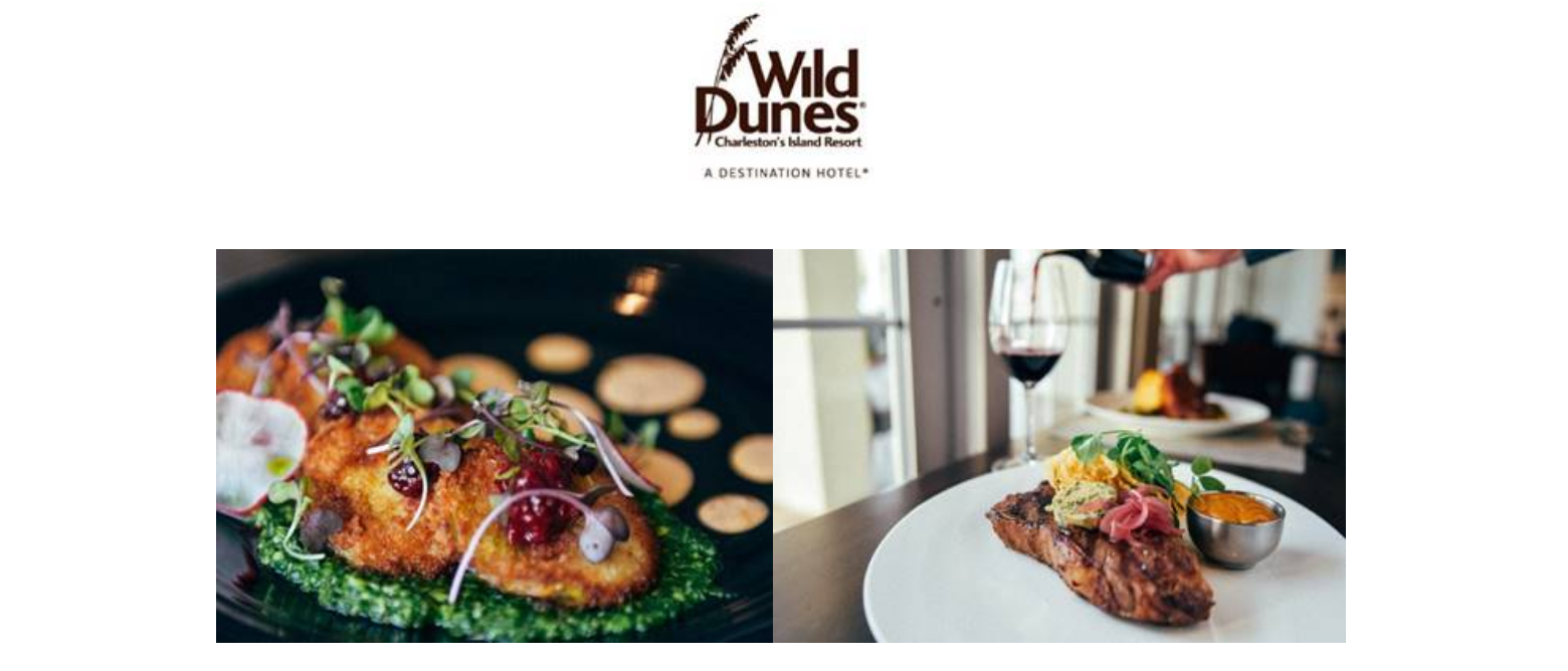 Wild Dunes Resort Unveils New Fall Menus At Three Restaurants Coastal Provisions Huey S Southern Eats And The Salty Goat