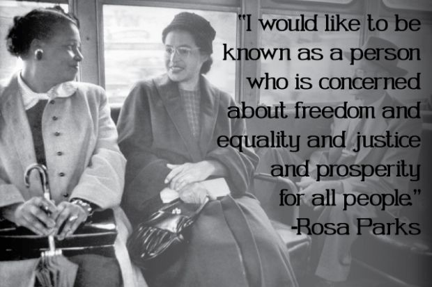 Happy Birthday Rosa Parks Inspirational Quotes From A True