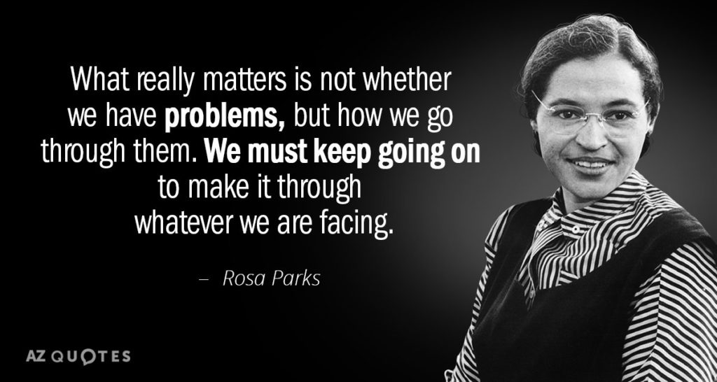 Happy Birthday Rosa Parks – Inspirational quotes from a true