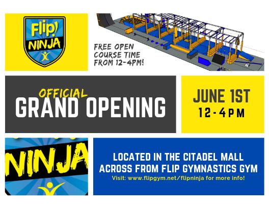 Flip Ninja Grand Opening (West Ashley) – June 1, 2019 – Charleston Daily