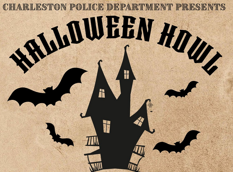 "Charleston Halloween 2020 Charleston Police Department Presents ""Halloween Howl"" – Friday"