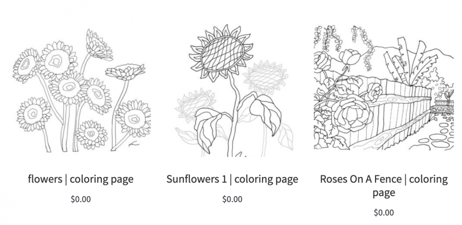 - Local Charleston Artist Fer Caggiano Is Offering Free Downloadable Coloring  Pages To Help Cope And Stay Creative – Charleston Daily